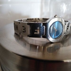 Fendi women's stainless watch